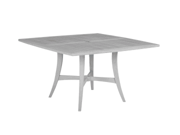 "Argento-52"" Square Dining Table"