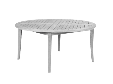 "Argento-54"" Round Dining Table"