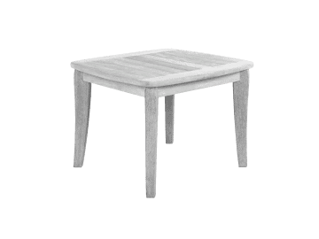 "Argento-23"" Square Side Table"