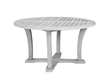 "Argento-47"" Round Chat Table"