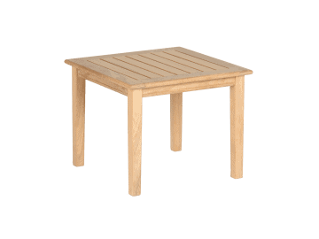 "English-23"" Square Side Table"