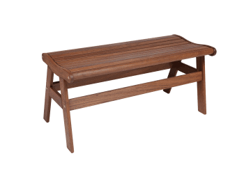 "Classic Ipe-43"" Amber Backless Bench"
