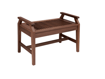 Opal 2.5ft. Bench with arms