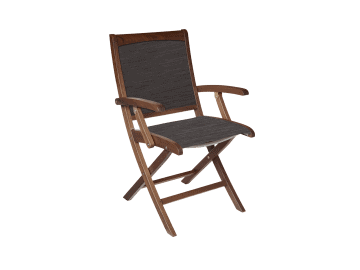 Topaz Folding Ponderosa Sling Chair