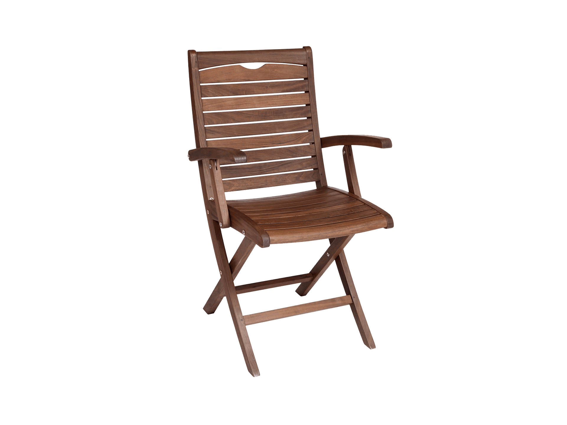 Topaz Folding Chair (lower Arms, Wider Seat)