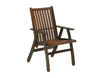 Classic Ipe-Governor Arm Chair