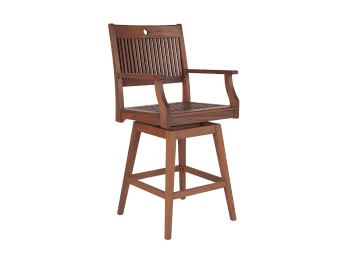Opal Swivel Hi Dining Chair