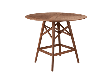 "Opal-48"" Round Hi Dining Table"