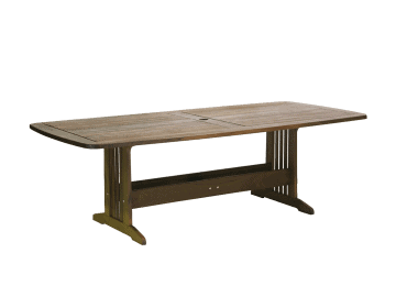 "Classic Ipe-90"" Bunbury Rectangular Dining Table"