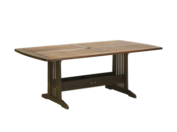 "Classic Ipe-74"" Belmont Rectangular Dining Table"