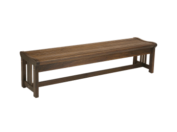 "Classic Ipe-72"" Lincoln Backless Bench"