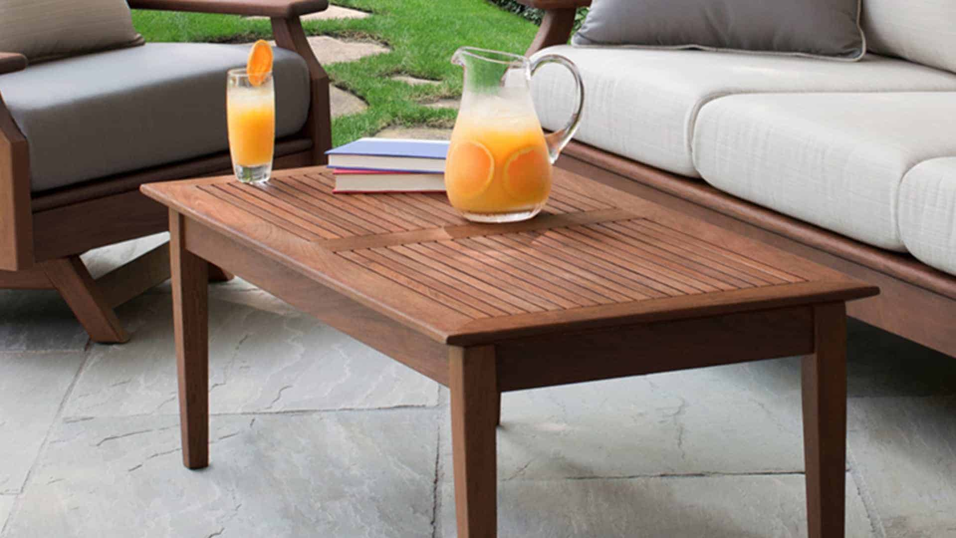 Opal Ft Coffee Table Jensen Leisure Furniture - 4ft coffee table