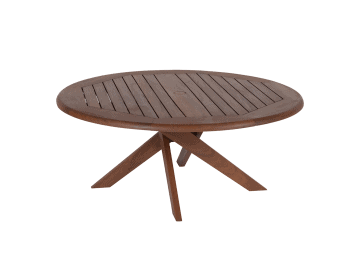 "Topaz-41"" Round Coffee Table"