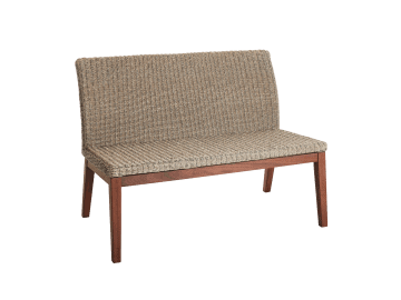 "Coral-46"" Low Back Bench 