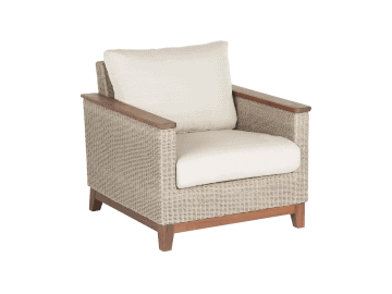 Coral-Lounge Chair | Natural