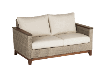 Coral Loveseat assembled