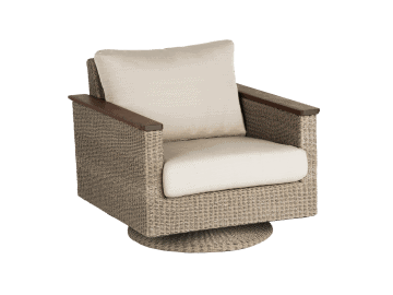 Coral Swivel Rocker assembled