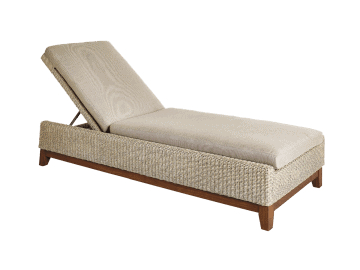 Coral Chaise Lounge assembled