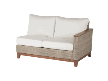 Coral-Sectional Left Seat | Natural