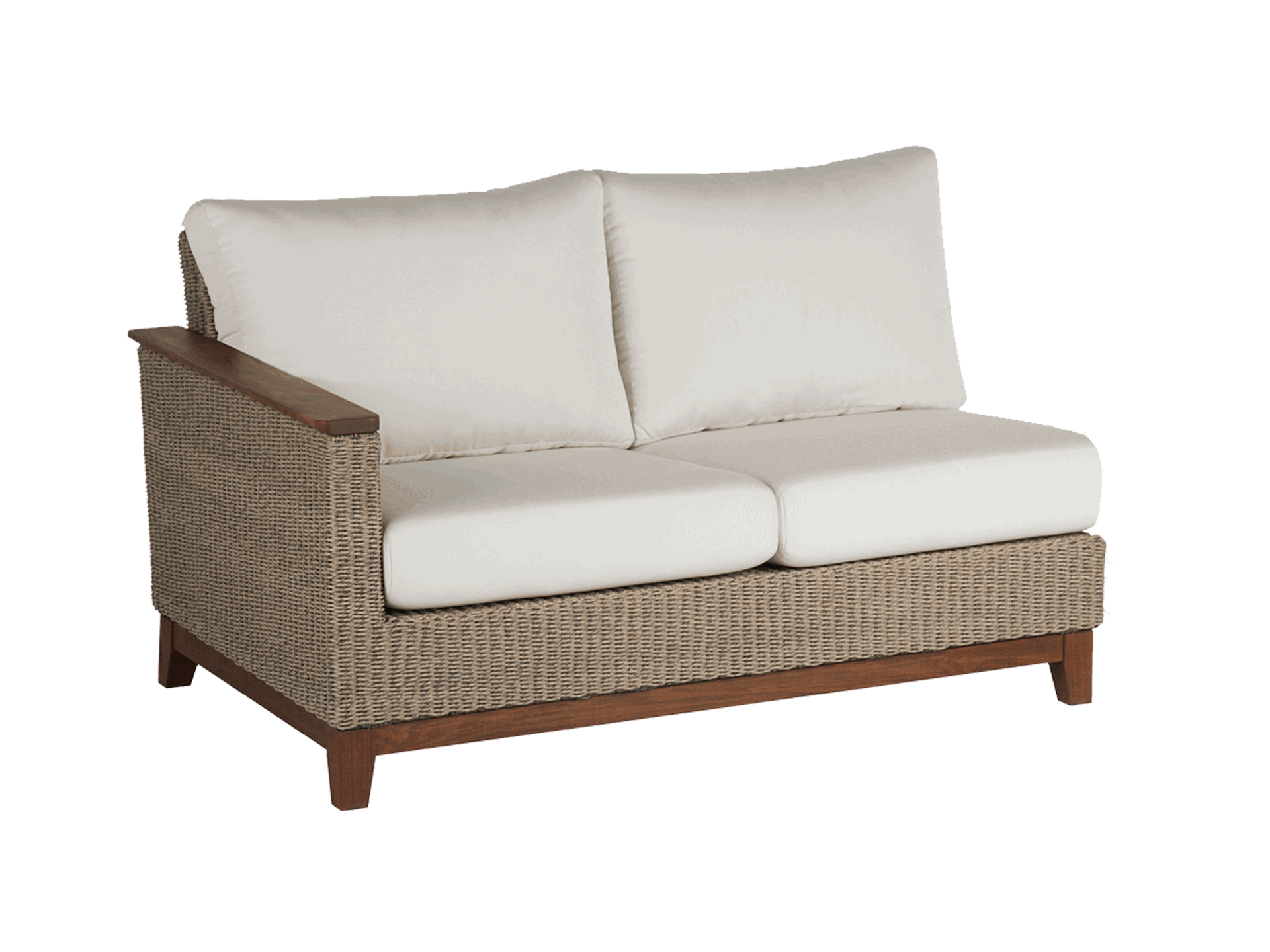 Coral Sectional Right Seat Assembled Jensen Leisure