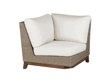 Coral-Sectional Corner | Natural