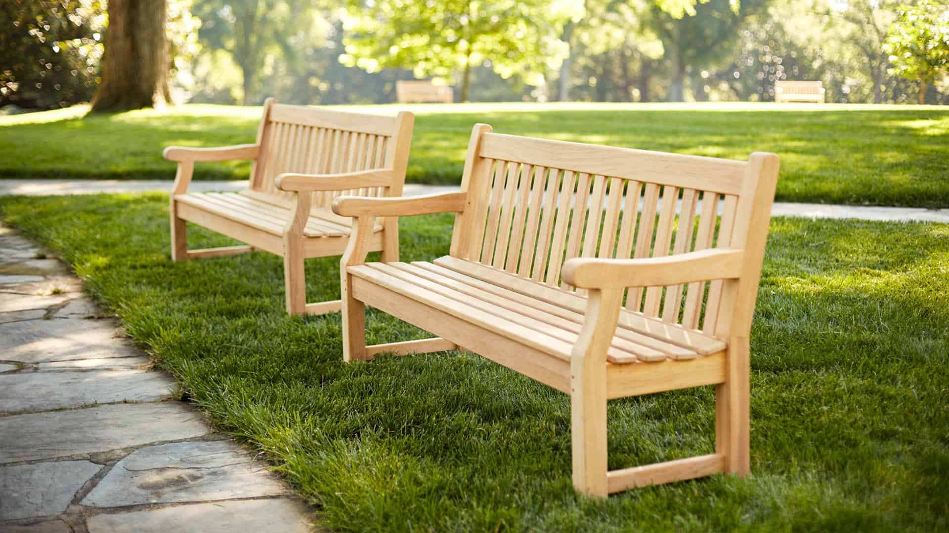 Outdoor Wood Bench Part - 41: Contract Benches