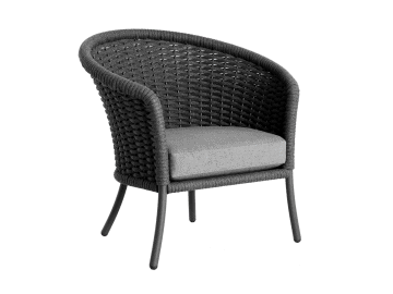 Cordial-Lounge Chair | Gray