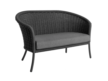 Cordial Loveseat Gray