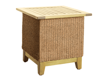 "Santa Cruz-24"" Square Side Table"