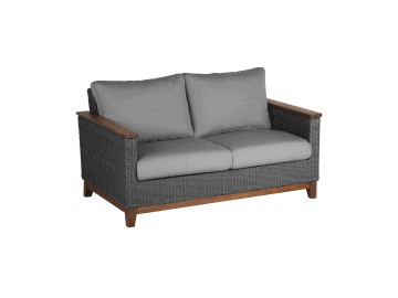 Coral-Loveseat | Gray