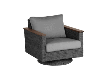 Coral Swivel Rocker