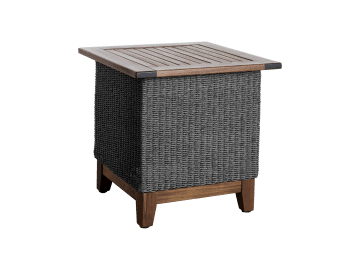 "Coral-24"" Square Side Table 