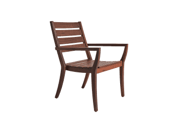 Laguna-Stacking Arm Chair