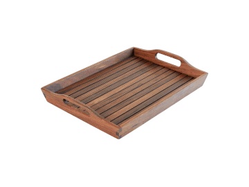 Classic Ipe-Serving Tray | Small