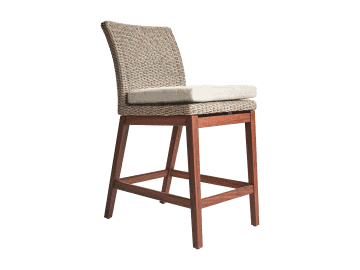Coral-Counter Height Side Chair | Natural
